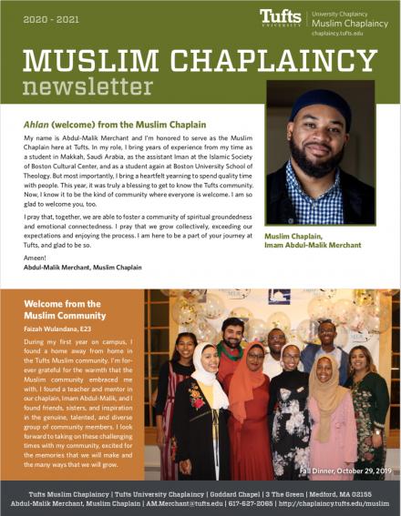 Image of 2020 Muslim Newsletter