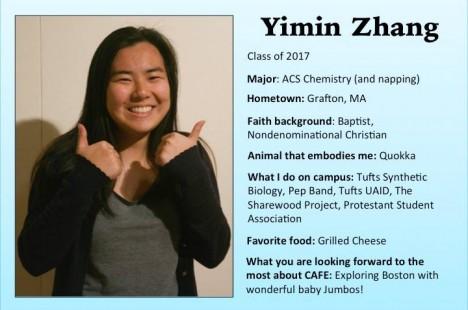 Meet Yimin!