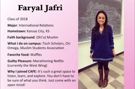 Meet Faryal!