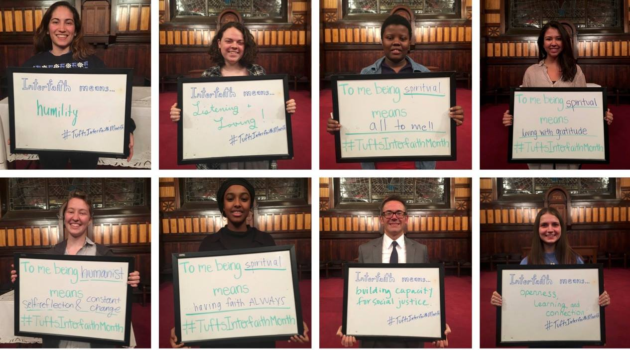 Tufts Interfaith Month: February 2018