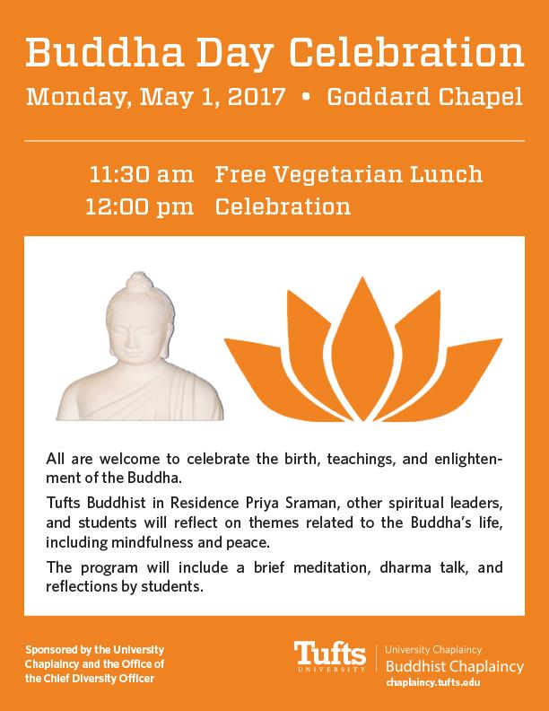 Buddha Day Celebration - Tufts University Chaplaincy