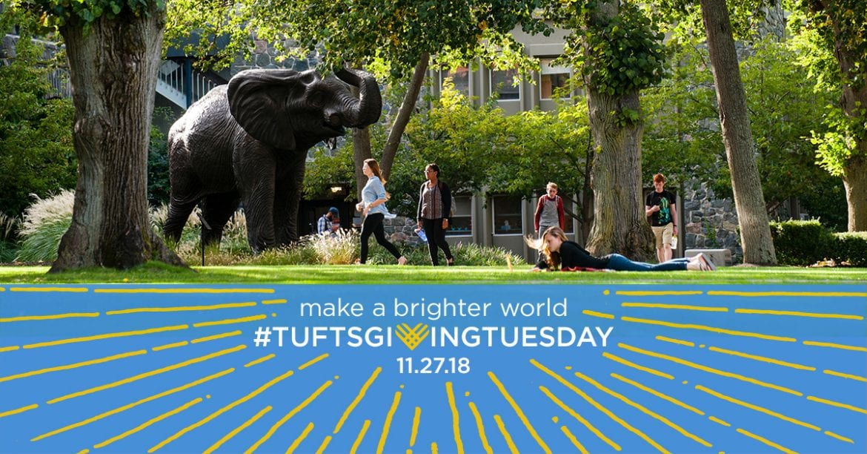 #TuftsGivingTuesday