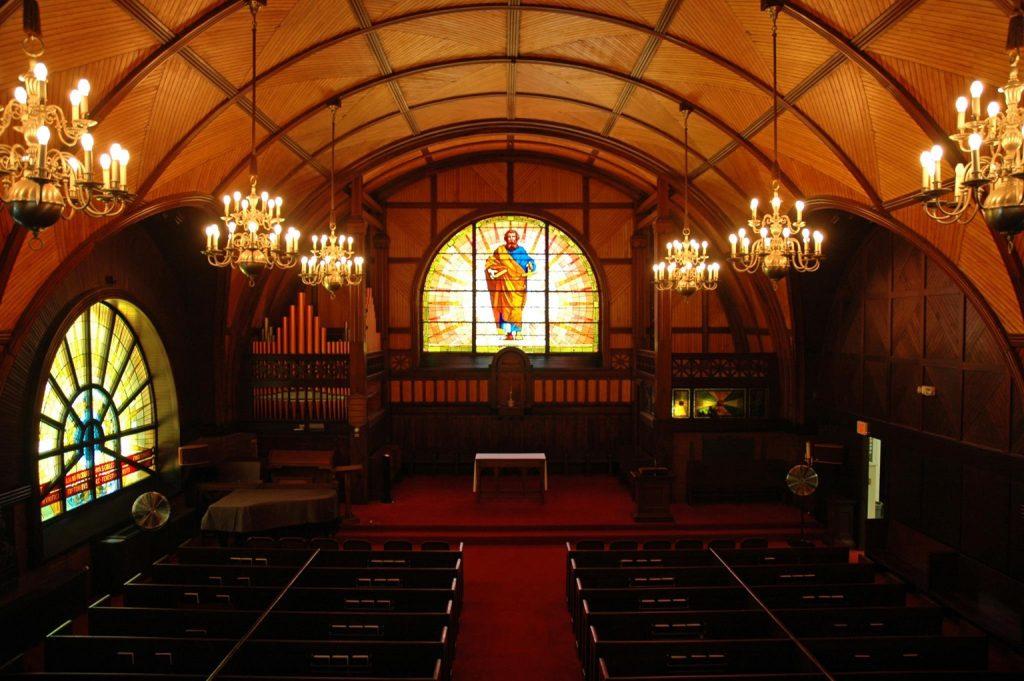 Goddard Chapel Interior