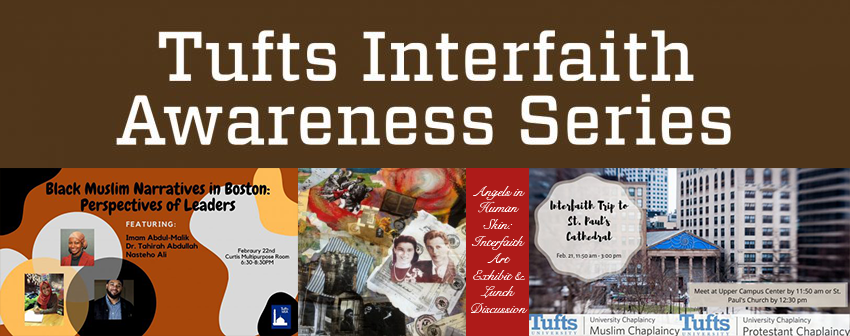 Tufts Interfaith Awareness Series, Spring 2020