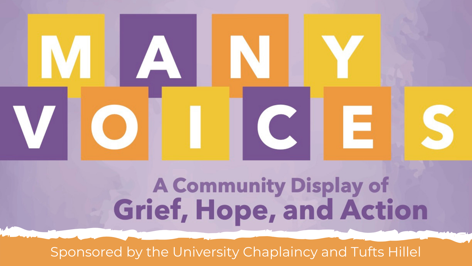 Many Voices: A Community Display of Grief, Hope, and Action