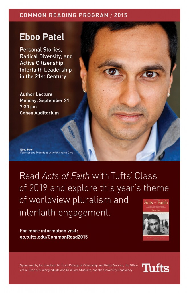 Tufts Common Read 2015 Final